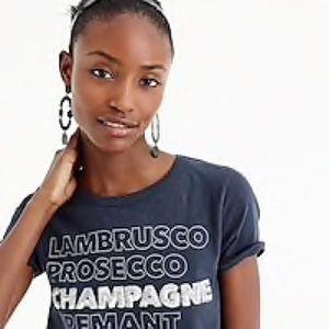J. Crew Tops - Worn Once J.Crew Champagne T-Shirt